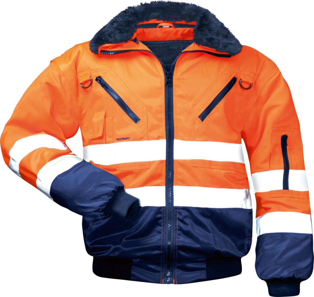 High visibility working pilot jacket